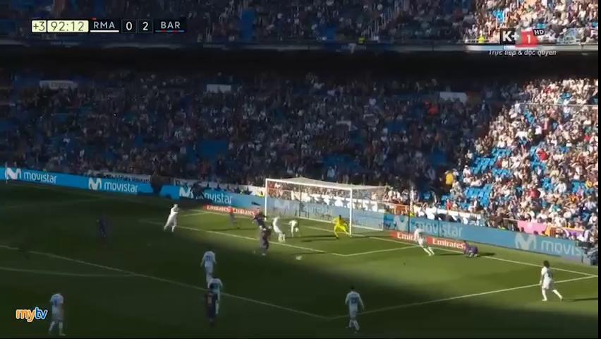 Real Madrid 0-3 Barcelona: Messi, Luis Suarez tỏa sáng - Ảnh minh hoạ 2