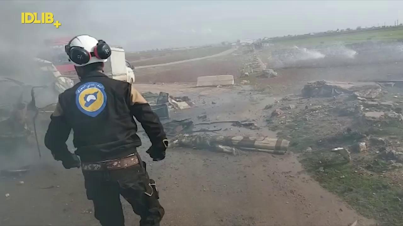 Khoảnh khắc cuối cùng của phi công Su-25 Nga bị bắn rơi ở Syria