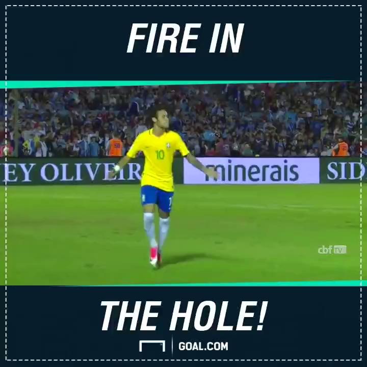"""Neymar """"nhấn chìm"""" đối thủ bằng một quả FlashBang CS:GO ngay trong màu áo của tuyển Brazil"""