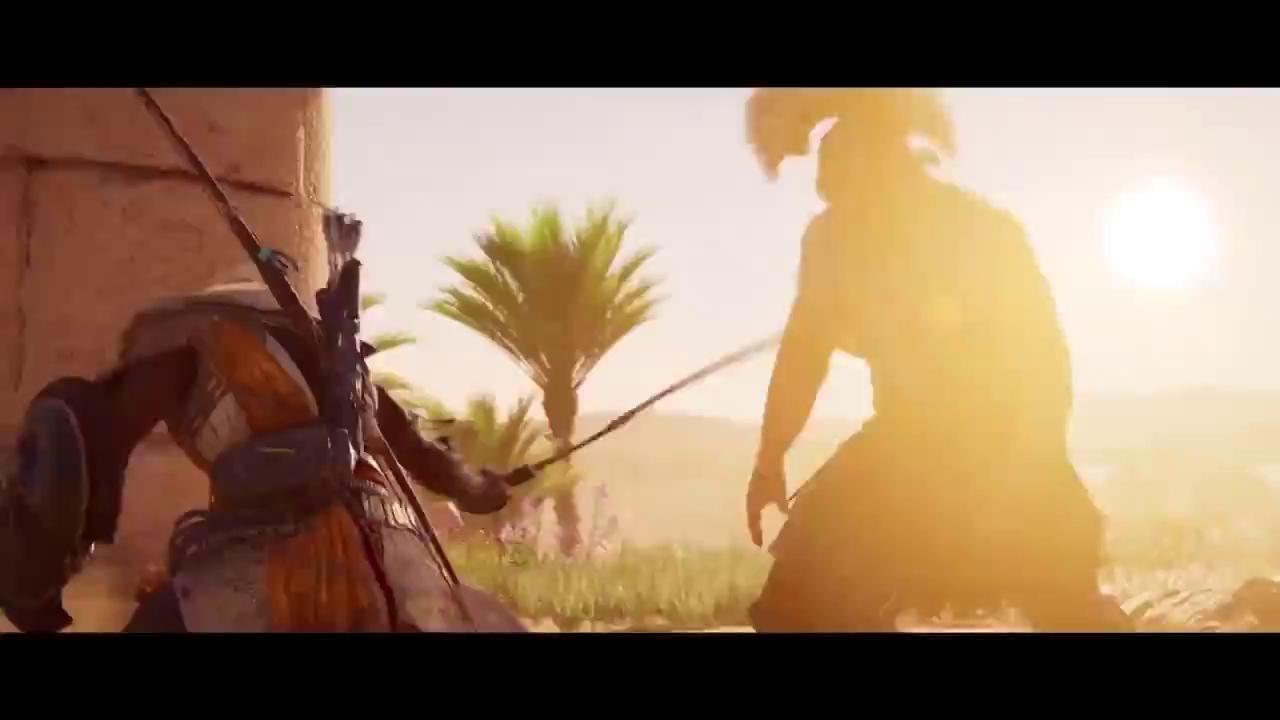 """Assassin's Creed Origins tung trailer mới: đẹp mắt, hoành tráng nhưng """"mất chất"""""""