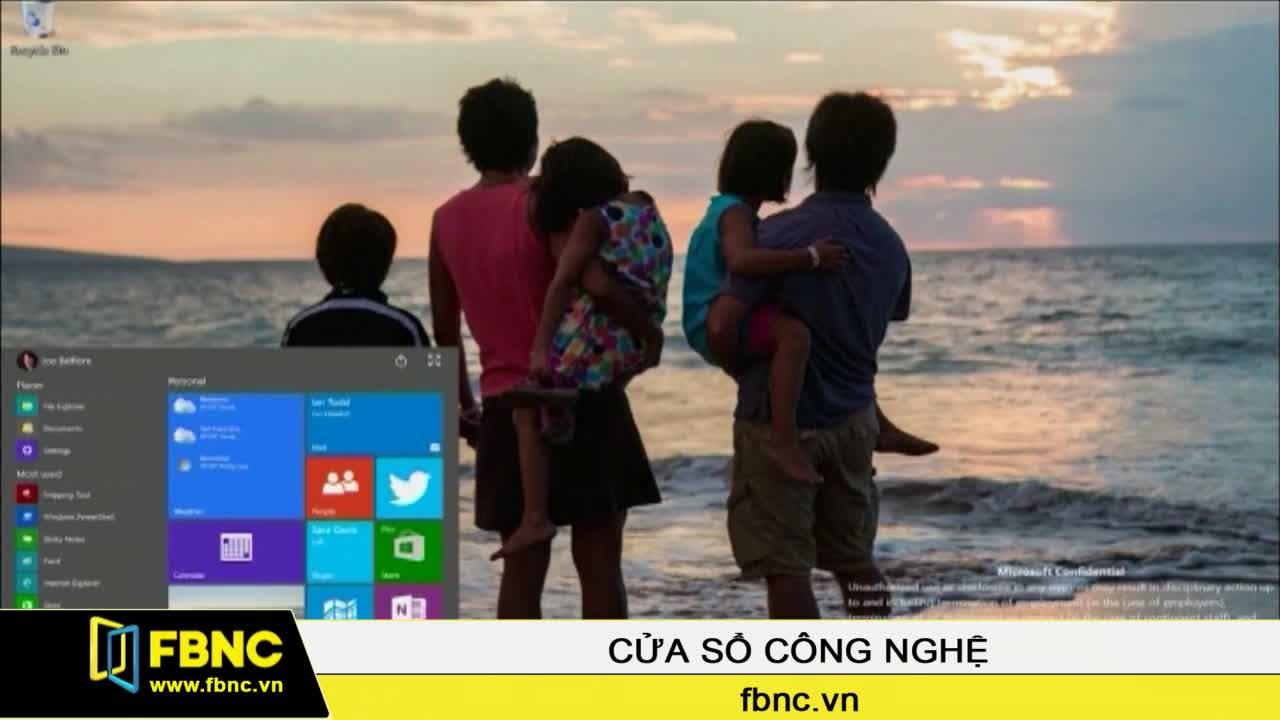 Windows 10 sẽ chính thức ra mắt vào 29-7