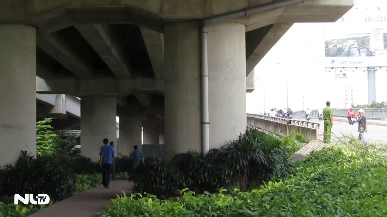 Người phụ nữ treo cổ dưới gầm cầu Bình Lợi