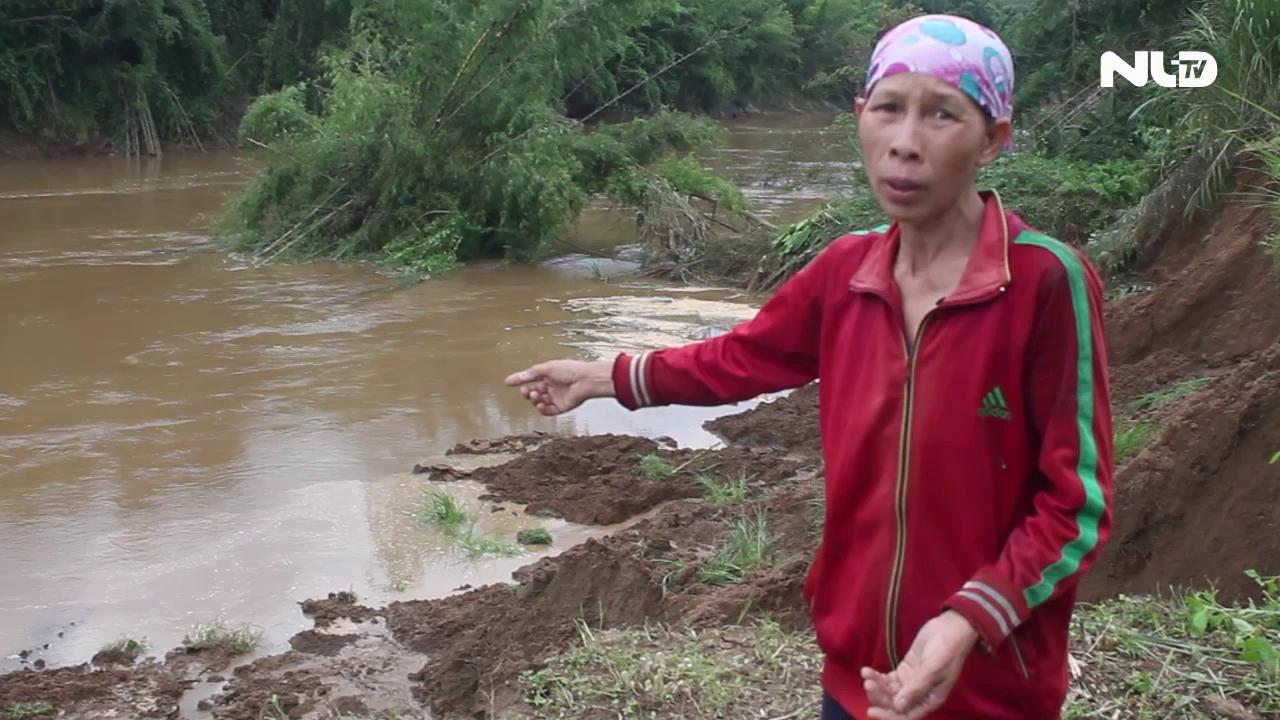 Cát tặc xới tung sông Đồng Nai