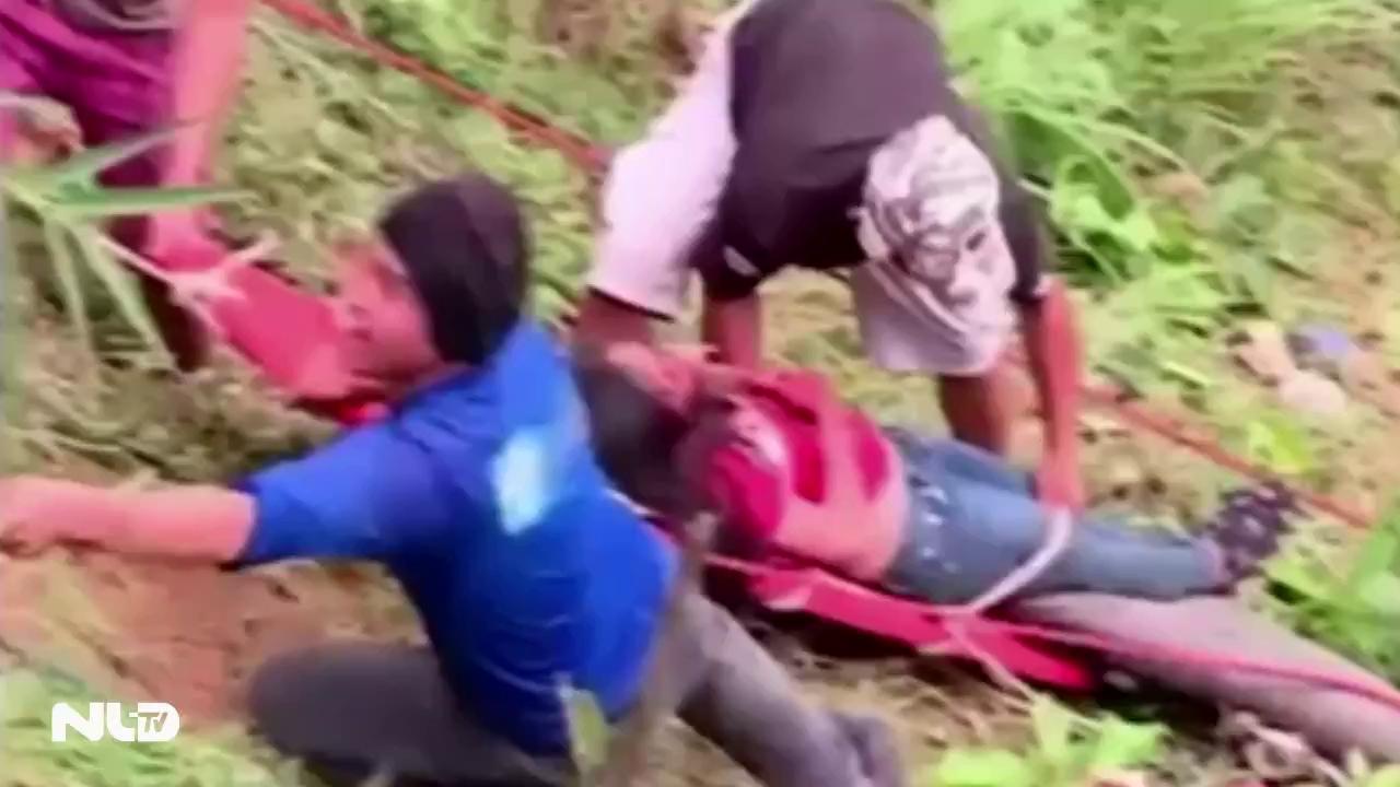 Xe buýt lao xuống vực ở Philippines, ít nhất 24 người chết