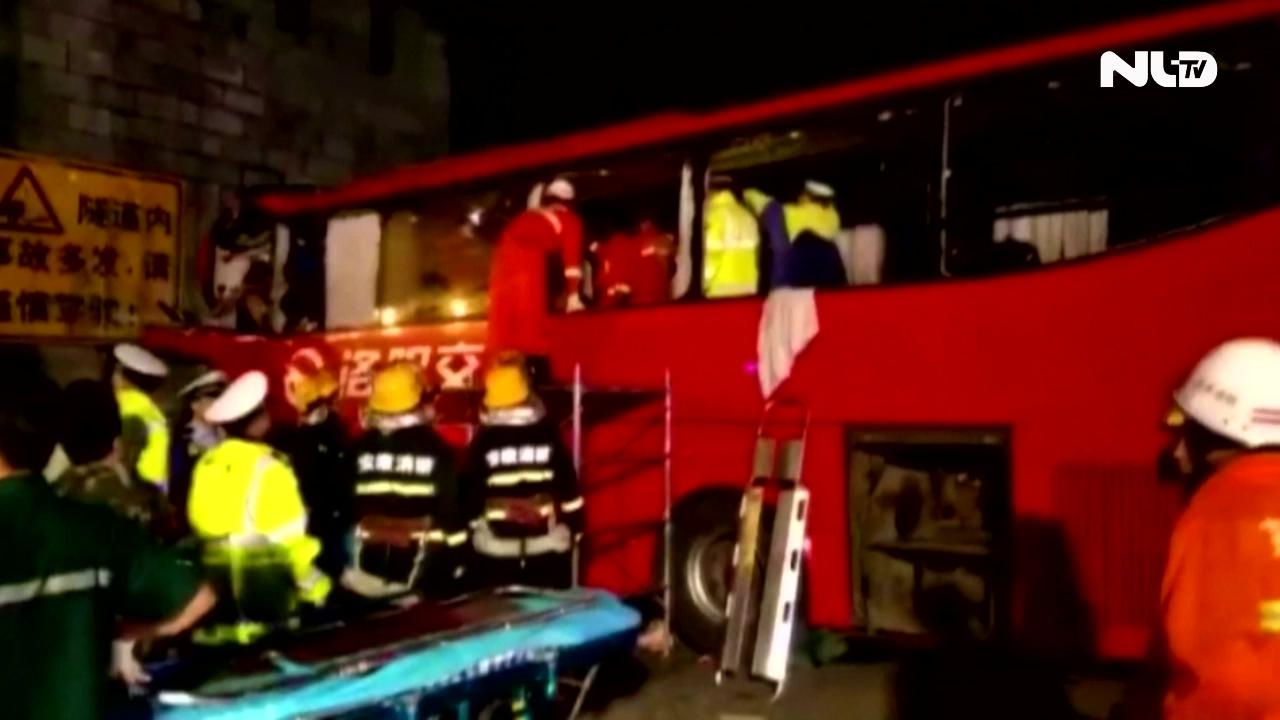 Trung Quốc: Tai nạn giao thông kinh hoàng, 36 người chết