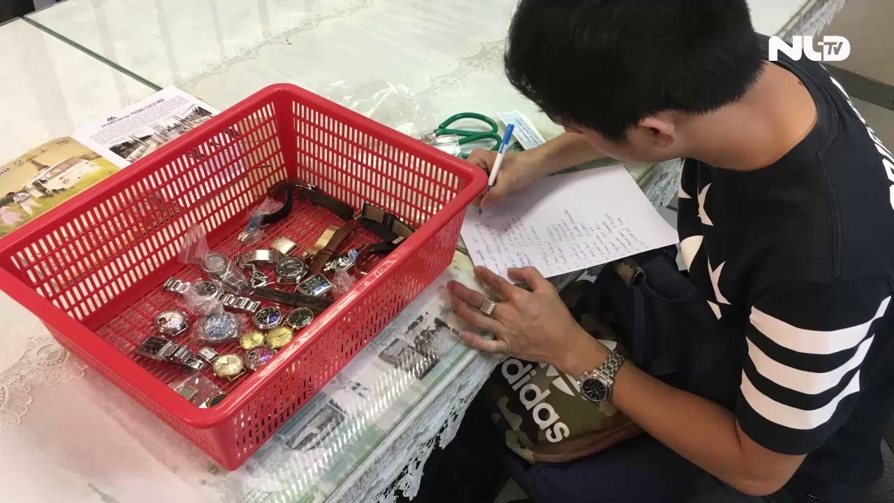 """Lợi dụng """"Cửa xanh"""" buôn lậu đồng hồ qua cửa khẩu Tân Sơn Nhất"""