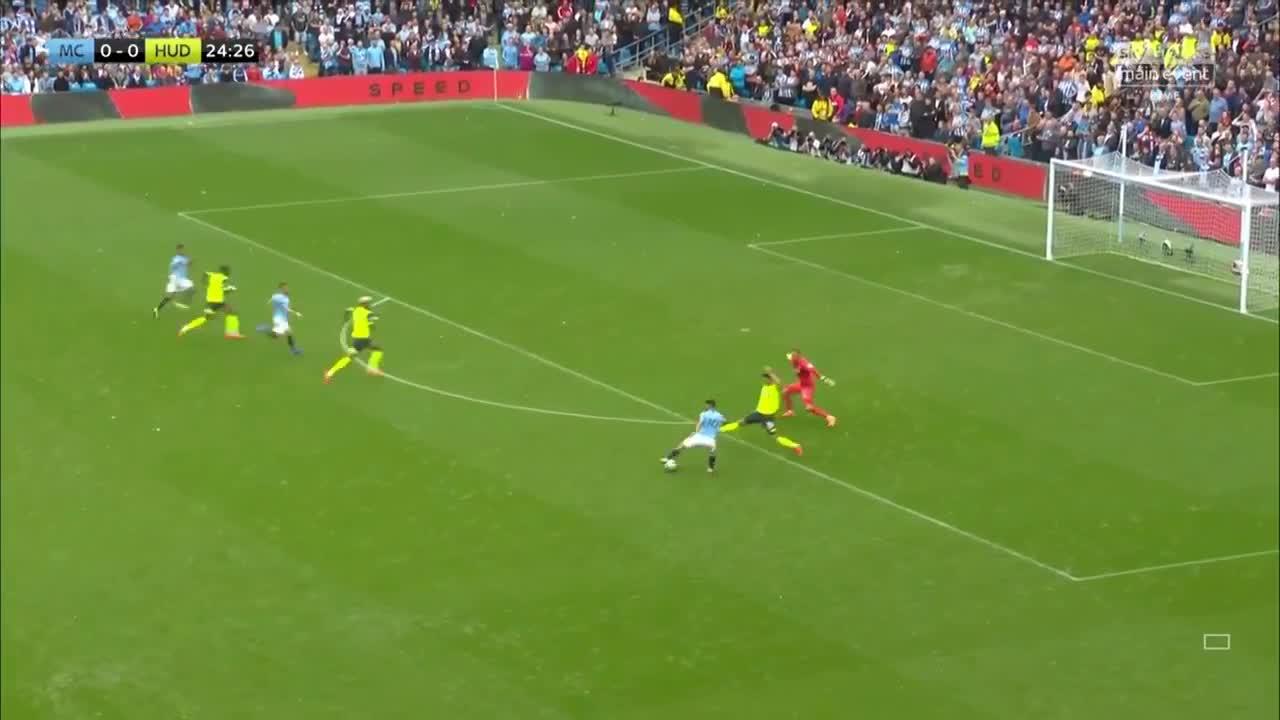 Man City - Huddersfield - Highlights