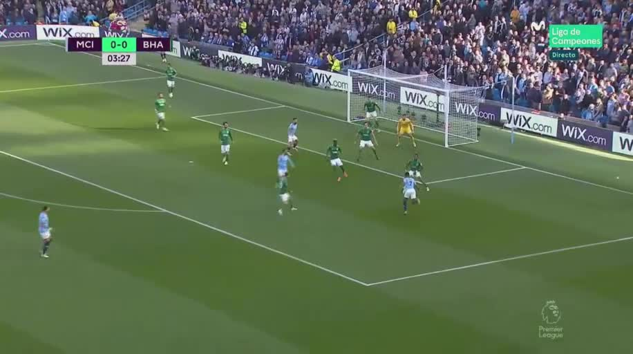 Man City 2-0 Brighton