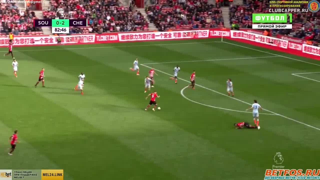 Southampton vs Chelsea 83