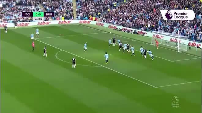 Man City 5-0 Burnley