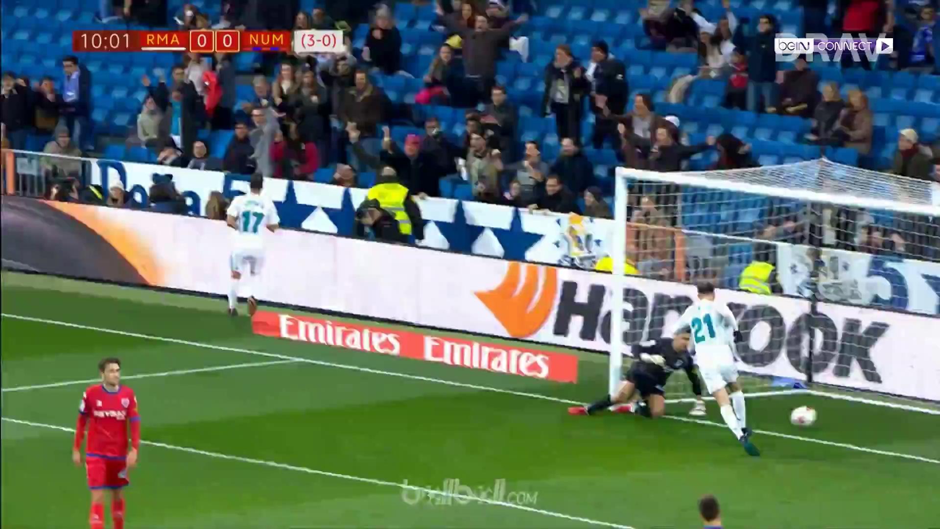 Real Madrid 2-2 Numancia