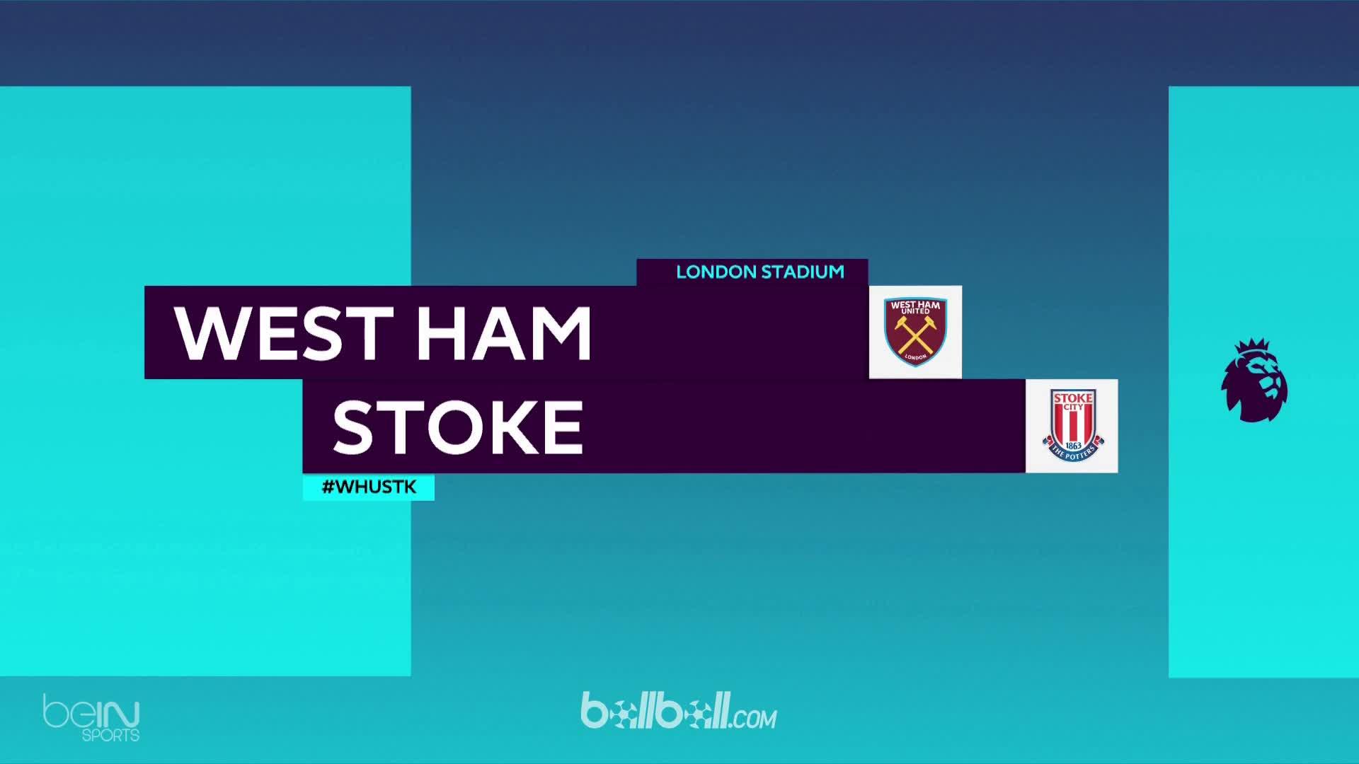 West Ham 1-1 Stoke