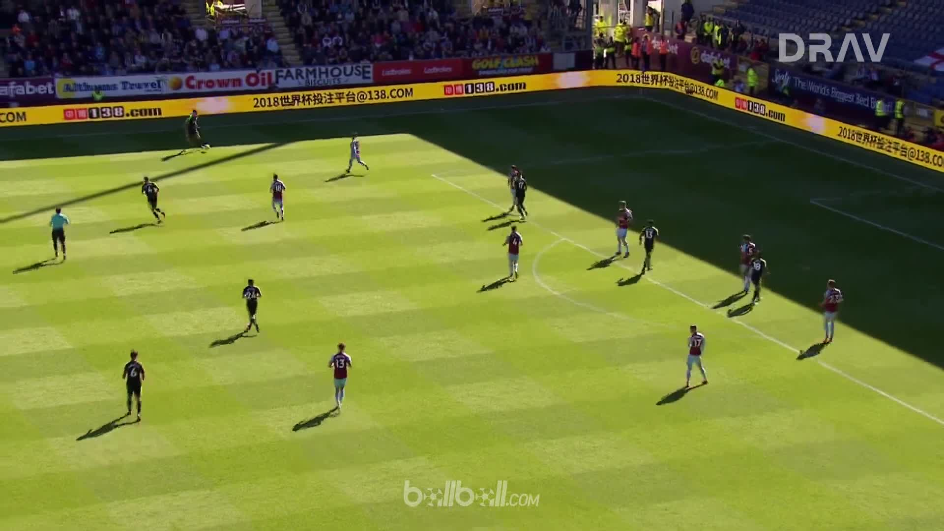 Goal J King (74) Burnley 1 - 1 Bournemouth