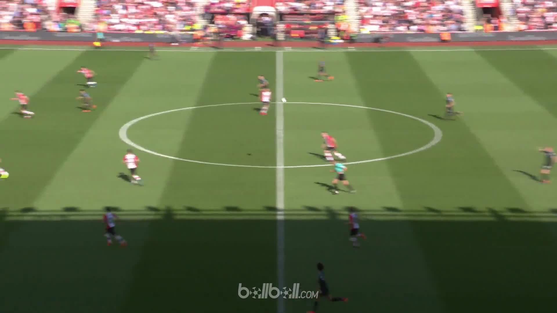 Goal G Jesus (90+4) Southampton 0 - 1 Manchester City