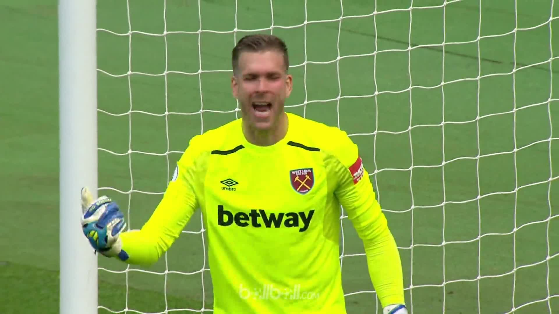 Goal O Niasse (74) West Ham 2 - 1 Everton