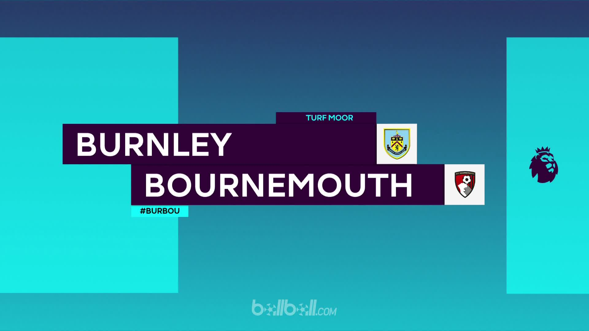 Burnley 1 - 2 AFC Bournemouth