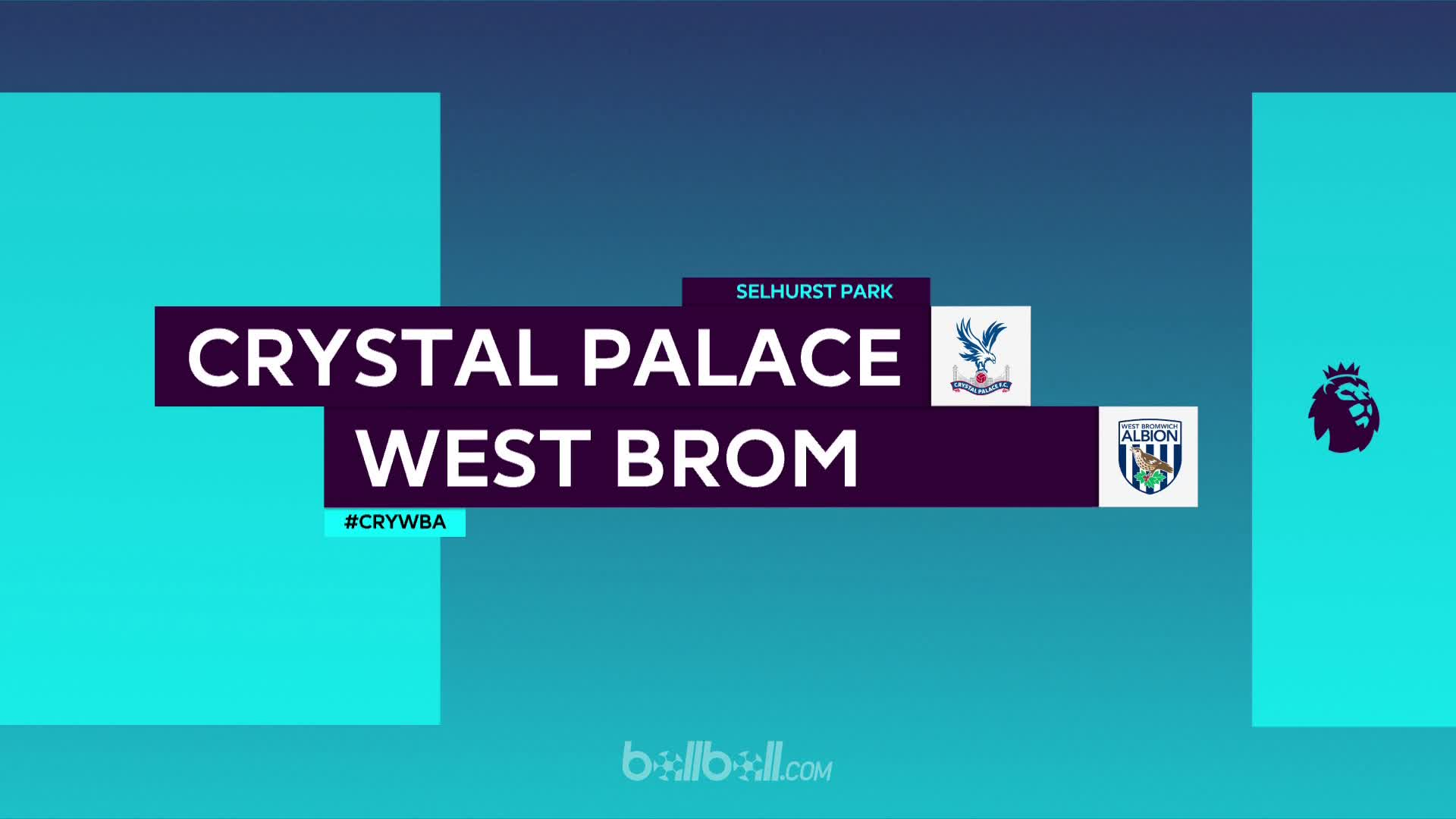 Crystal Palace 2 - 0 West Brom