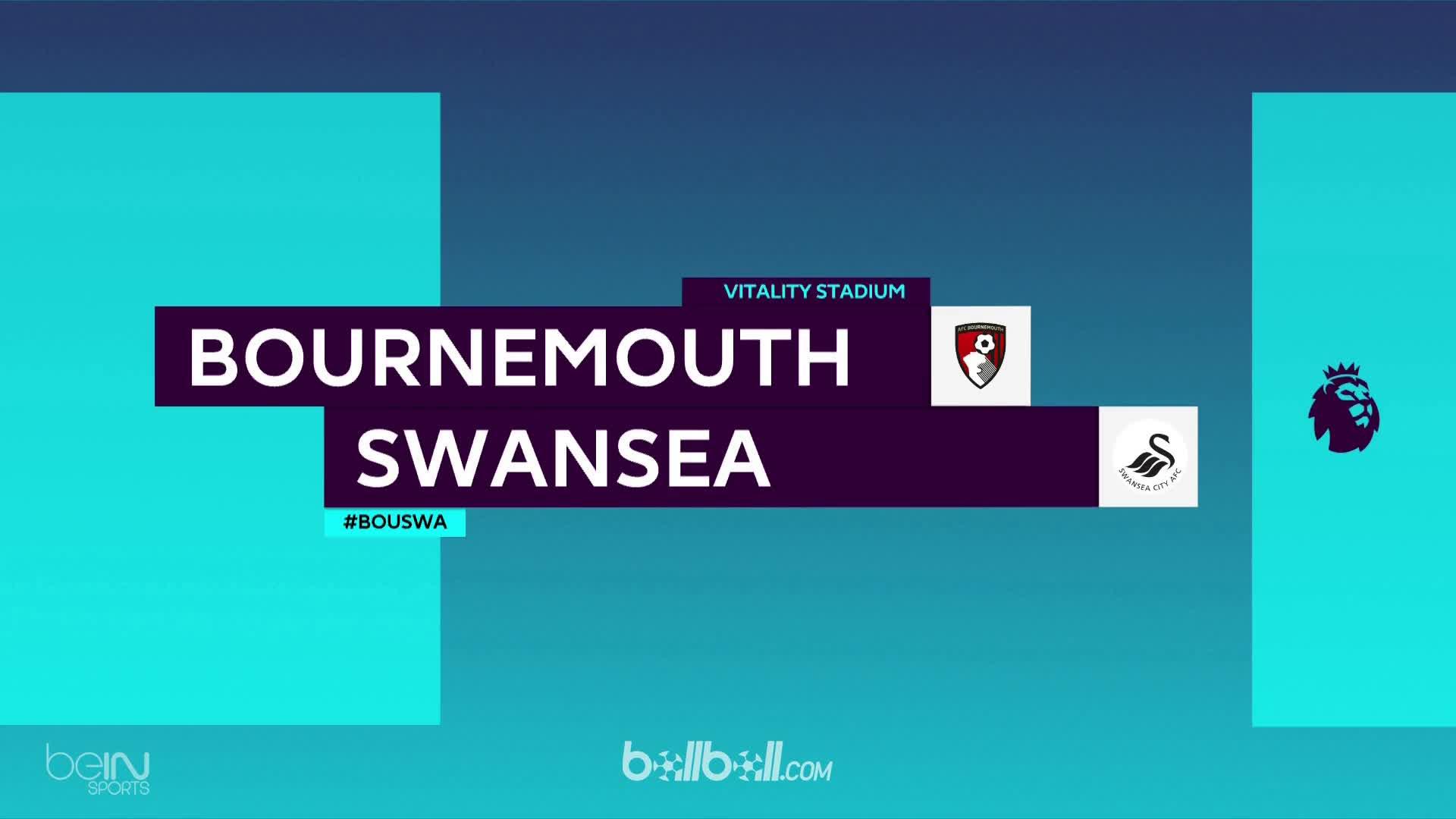 Tổng hợp trận Bournemouth 1-0 Swansea City vòng 37 Ngoại Hạng Anh