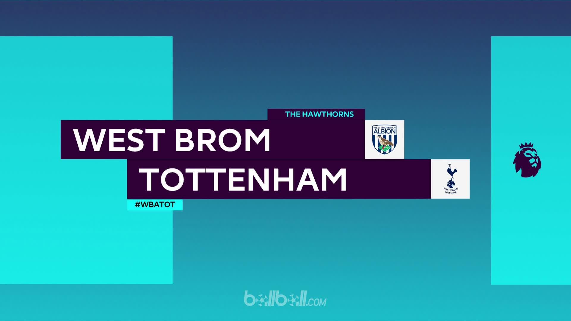 Tổng hợp trận West Brom 1-0 Tottenham vòng 37 Ngoại Hạng Anh