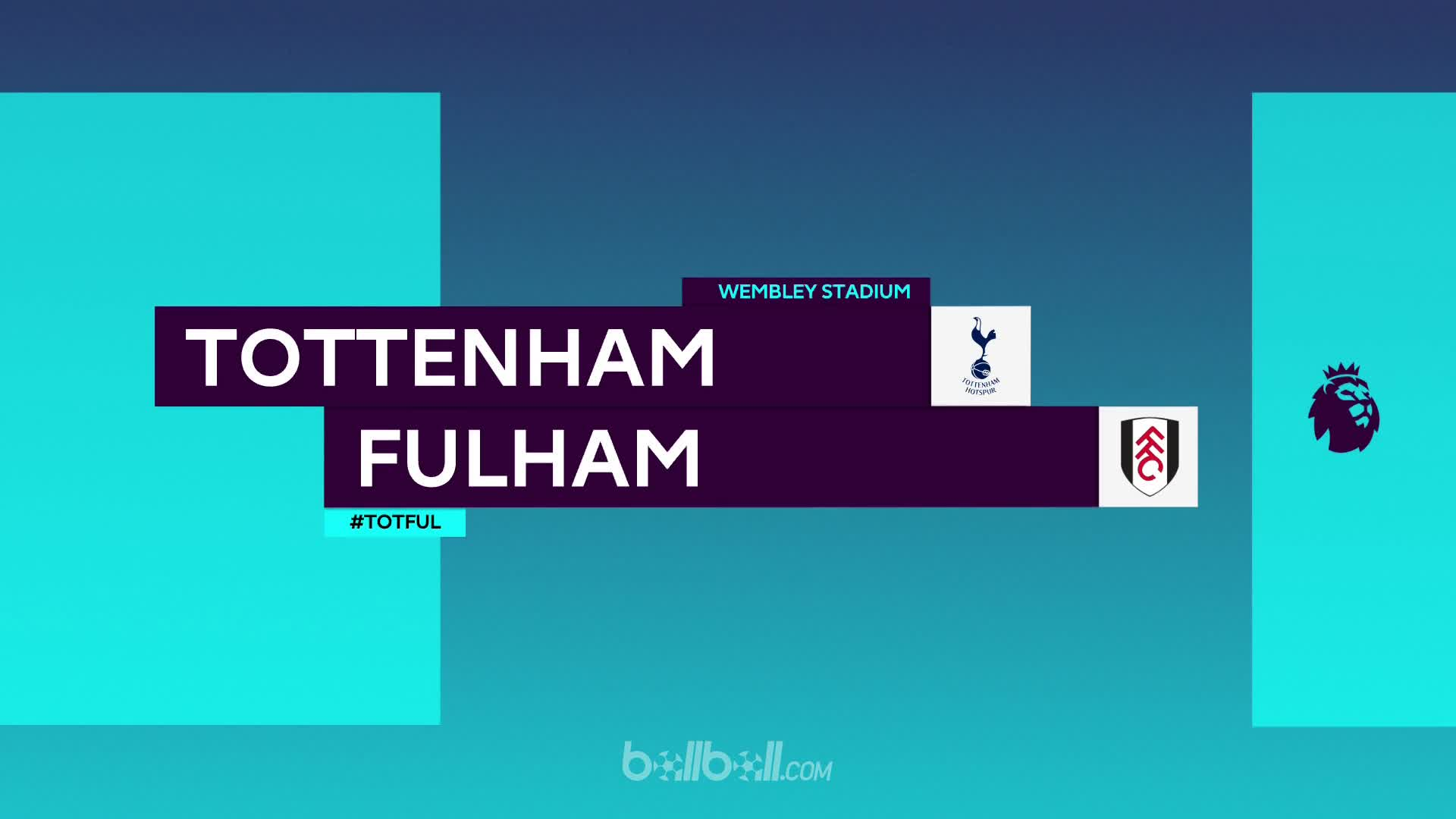 Tottenham Hotspur 3 - 1 Fulham