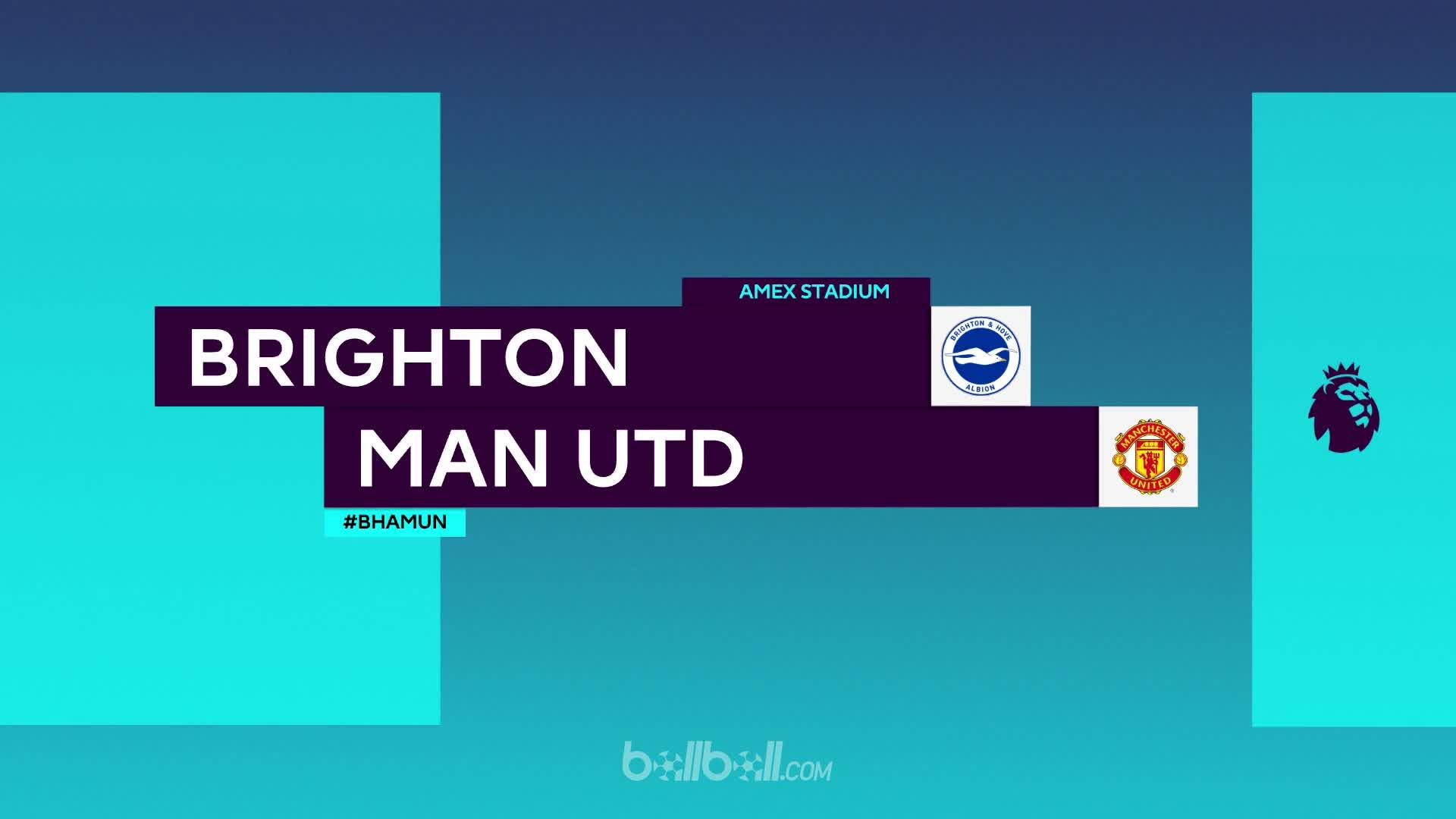 Brighton & Hove Albion 3 - 2 Manchester United