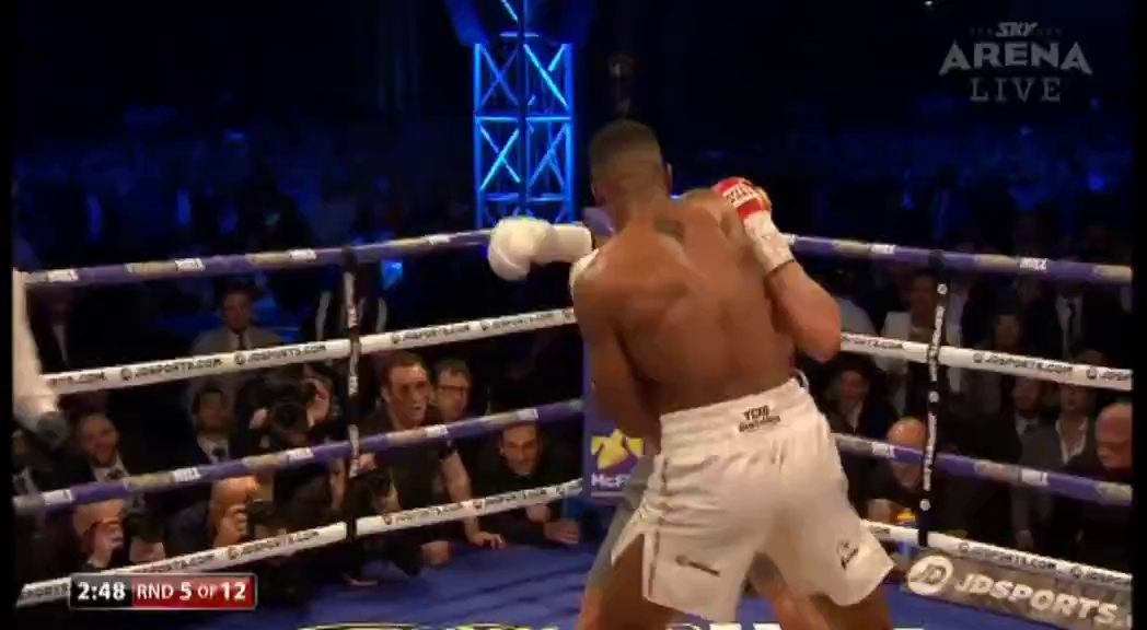 Highlights Anthony Joshua hạ đo ván Wladimir Klitschko