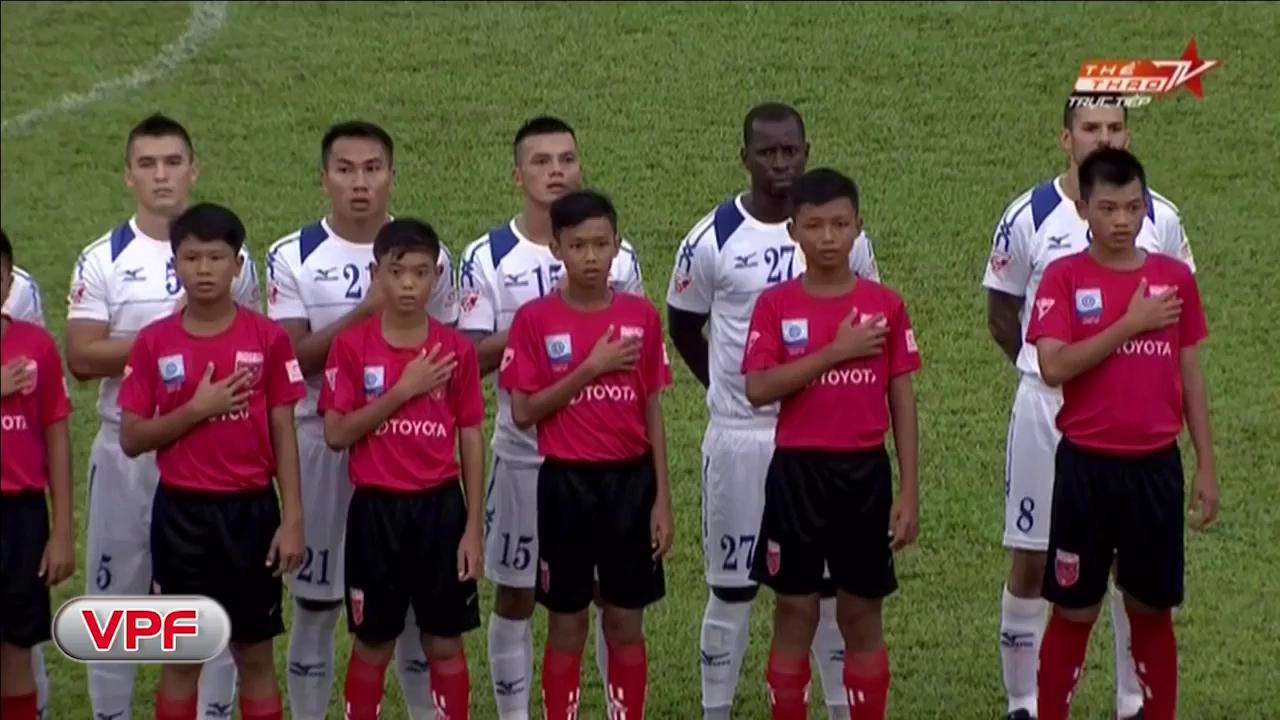 Long An 2-3 TP.HCM (Vòng 14 V-League)