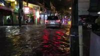 Ngập trong phố Vũ Trọng Phụng (Thanh Xuân, Hà Nội)
