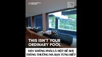 Khám phá căn biệt thự Pháp có cửa sổ là…một chiếc bể bơi