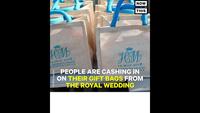 Túi quà tặng khách mời của đám cưới hoàng tử Harry được trả giá hơn 1,5 tỷ đồng