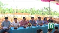 Hình ảnh về Lễ khởi công công trình phòng học Dân trí tại Quảng Bình
