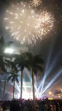 Người dân Quảng Trị đón năm mới