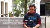 Hacker biểu diễn qua mặt bảo vệ mống mắt trên Galaxy S8