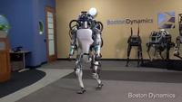 Robot Atlas di chuyển ở những địa hình khó và đứng dậy sau khi bị đẩy ngã
