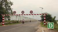 Cầu Sông Chùa và cầu Đà Rằng cũ đã xuống cấp nghiêm trọng