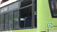Phú Yên: Xe bus tự lật nhào, 3 người bị thương