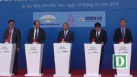 Thủ tướng bấm nút khởi công cầu vượt sông Ba hơn 340 tỷ đồng