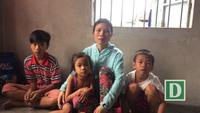 Mong ước của người mẹ bị bệnh tim nuôi 3 con nhỏ