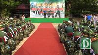 """Phú Yên: 75 """"chiến sĩ nhí"""" tham gia Học kỳ quân đội"""