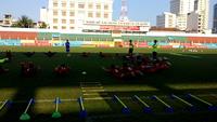 Đội tuyển U20 Việt Nam tập buổi đầu tiên tại Nha Trang