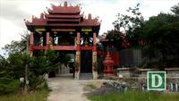 Ngôi chùa mang kiến trúc độc đáo ở phía Tây Nha Trang