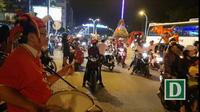 Màn đánh trống cổ động tại Nha Trang sau chiến thắng của U23VN