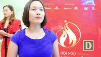 Bà Phạm Thị Kim Thơm - người đấu giá thành công chiếc áo dài dát vàng của NTK Đỗ Trịnh Hoài Nam chia sẻ.