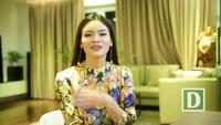 NSƯT Phương Thảo chúc Tết và hát tặng độc giả Dân trí khúc ca xuân do cô mới sáng tác