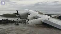 Máy bay chở hàng cho quân đội Pháp rơi xuống biển, ít nhất 4 người chết