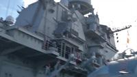 Tàu sân bay Đô đốc Kuznetsov tác chiến chống khủng bố ngoài khơi Syria