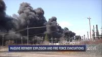 Nổ liên tiếp tại nhà máy lọc dầu Mỹ, ít nhất 20 người bị thương
