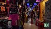 Khu chợ dưới lòng đất giữa trung tâm Sài Gòn
