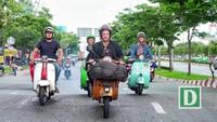 Chàng trai 8X chạy xe máy từ Italy sang Việt Nam