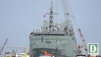 Ba tàu Hải quân Australia cập cảng TPHCM